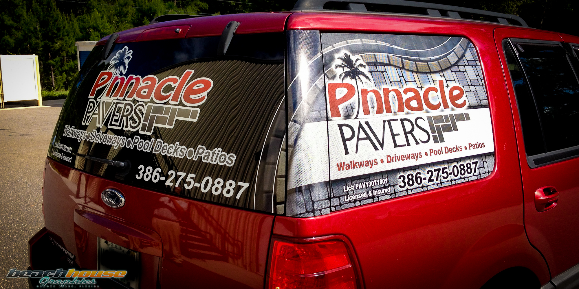 Vinyl Lettering Vehicle Wraps Daytona 386 256 0998
