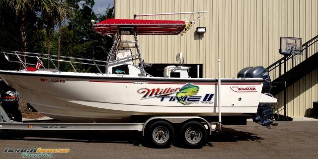 Boston Whaler Boat Decal Vehicle Wraps Daytona 386
