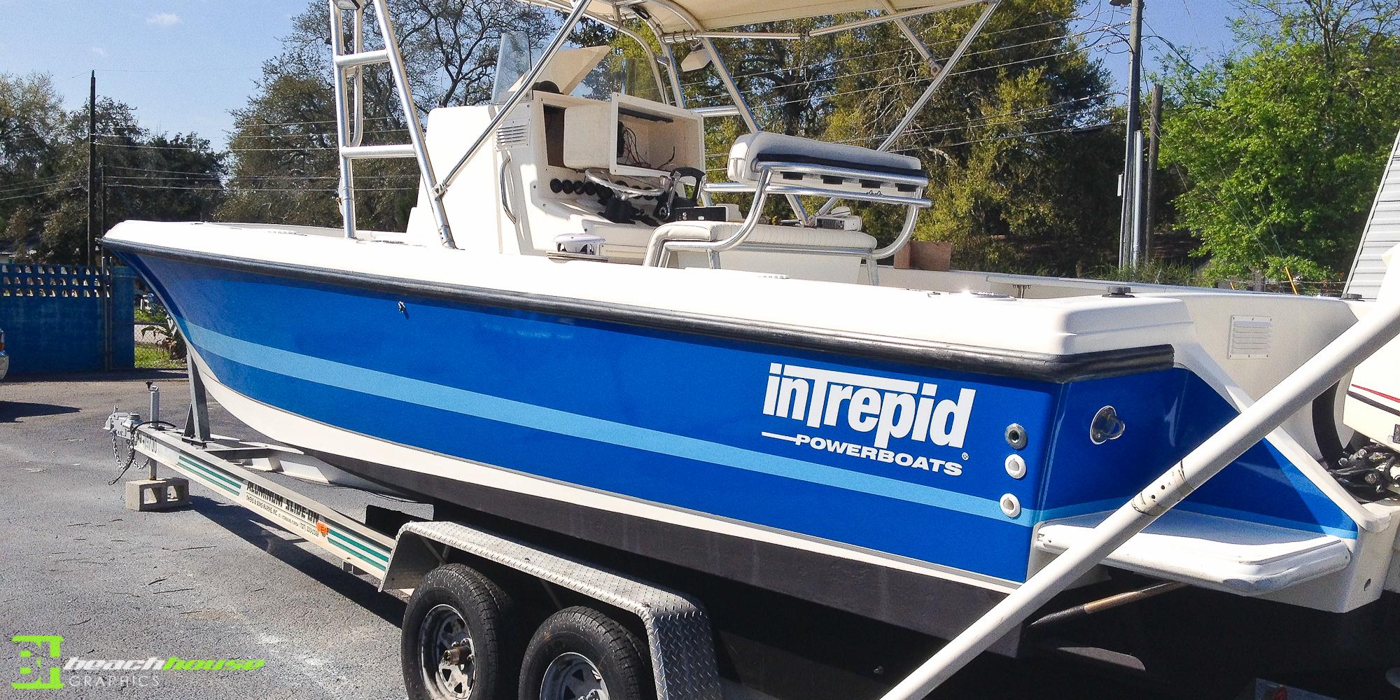 Vinyl Boat Decal Vehicle Wraps Daytona 386 256 0998