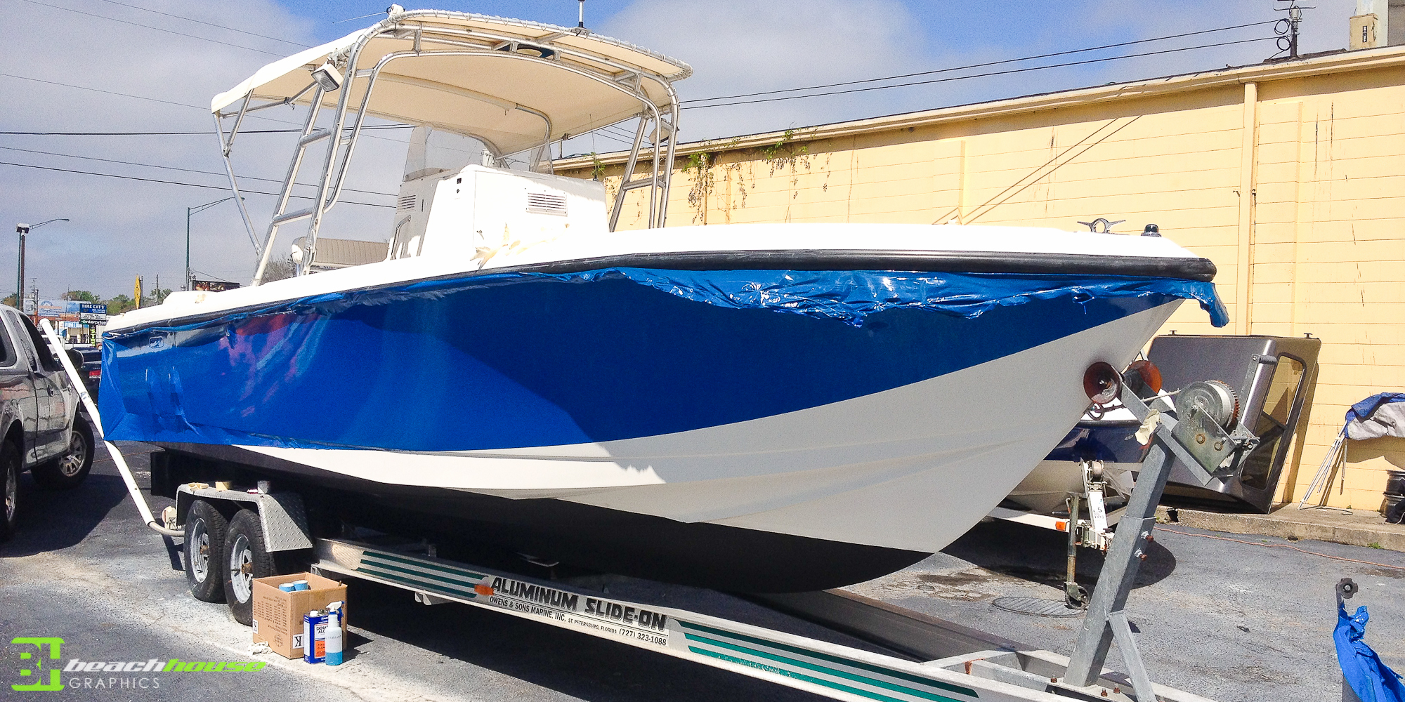 Vinyl Boat Decal Vehicle Wraps 386 256 0998
