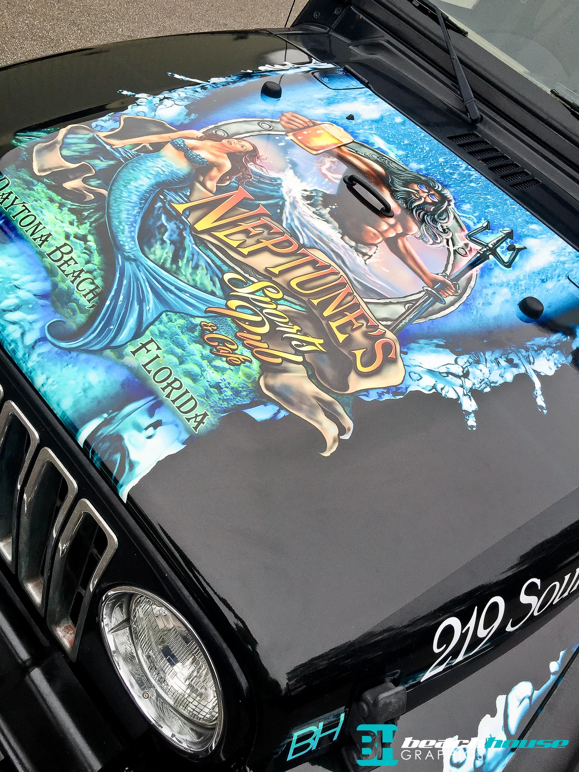 Jeep Wrap Vehicle Wraps Daytona 386 256 0998
