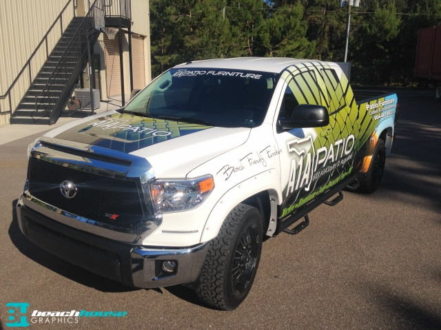 See Through Glass Sticker Vehicle Wraps Daytona 386