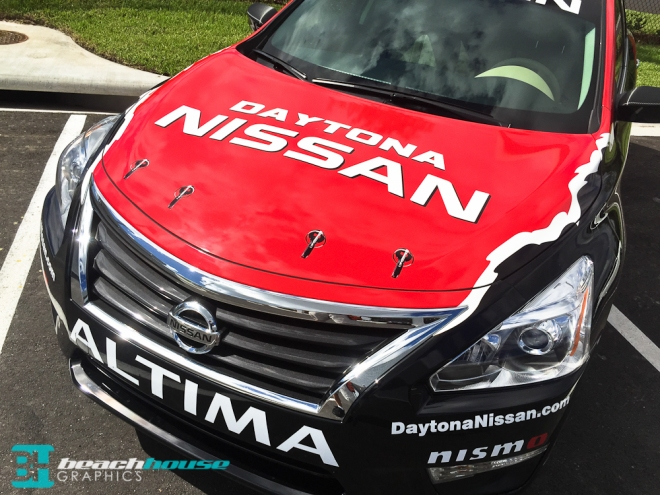 Hood Graphics for Nissan Altima