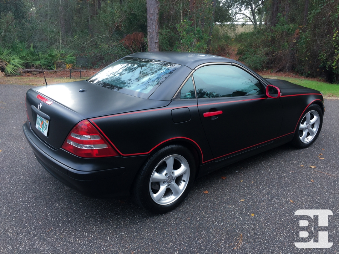 Vehicle Wrap Mercedes Ormond Beach Florida